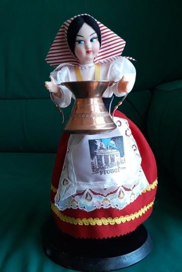 Italy Mascot-_the Ciociara_ (woman from Ciociaria)
