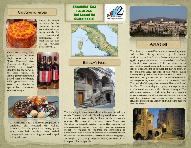 Italy-Tourist guide - ANAGNI (Frosinone) -page_1