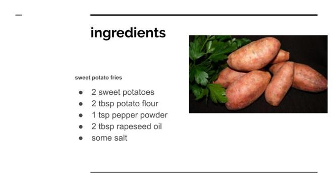 SWEET POTATO FRIES (1)